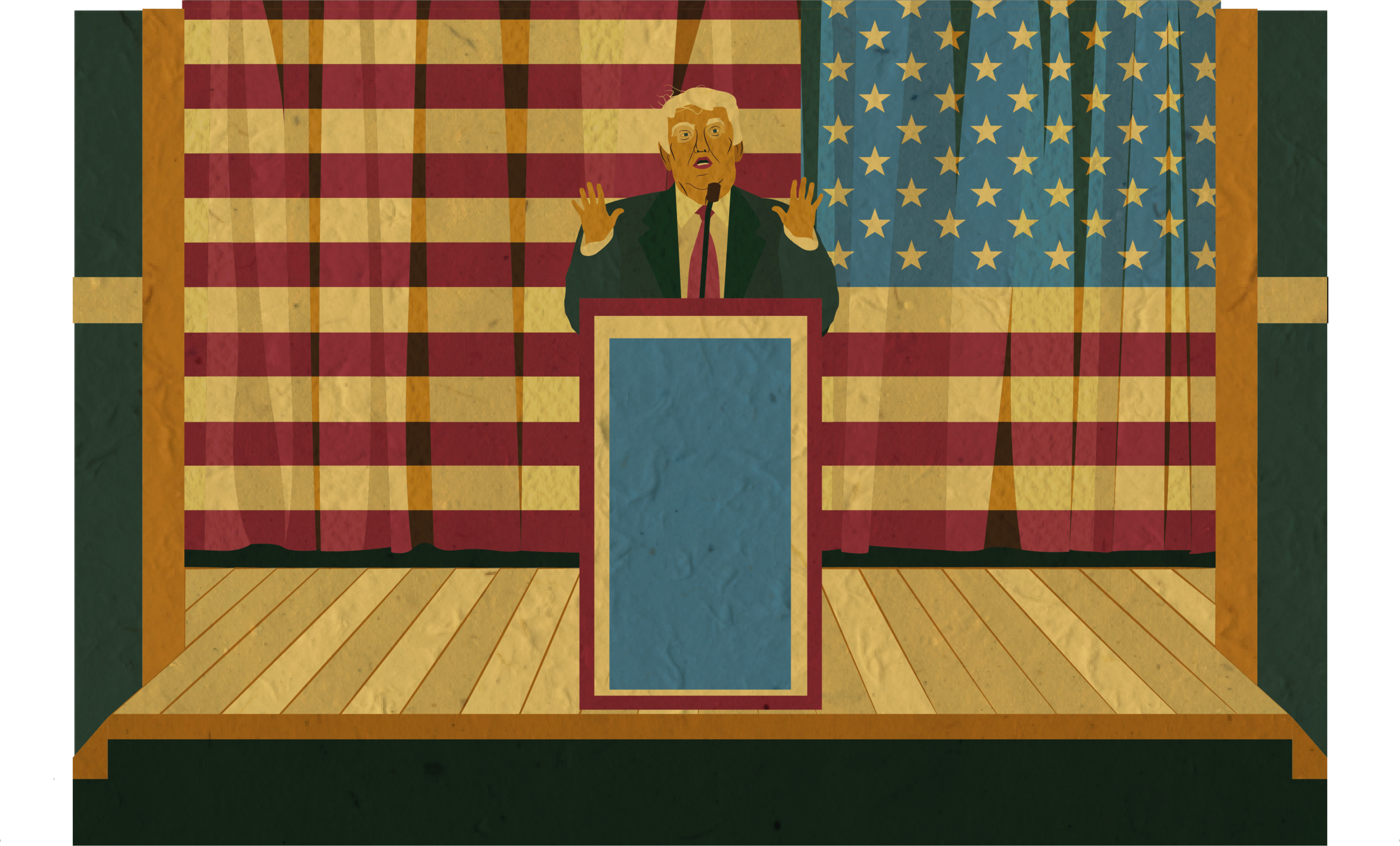 Illustration from Post Truth motion project
