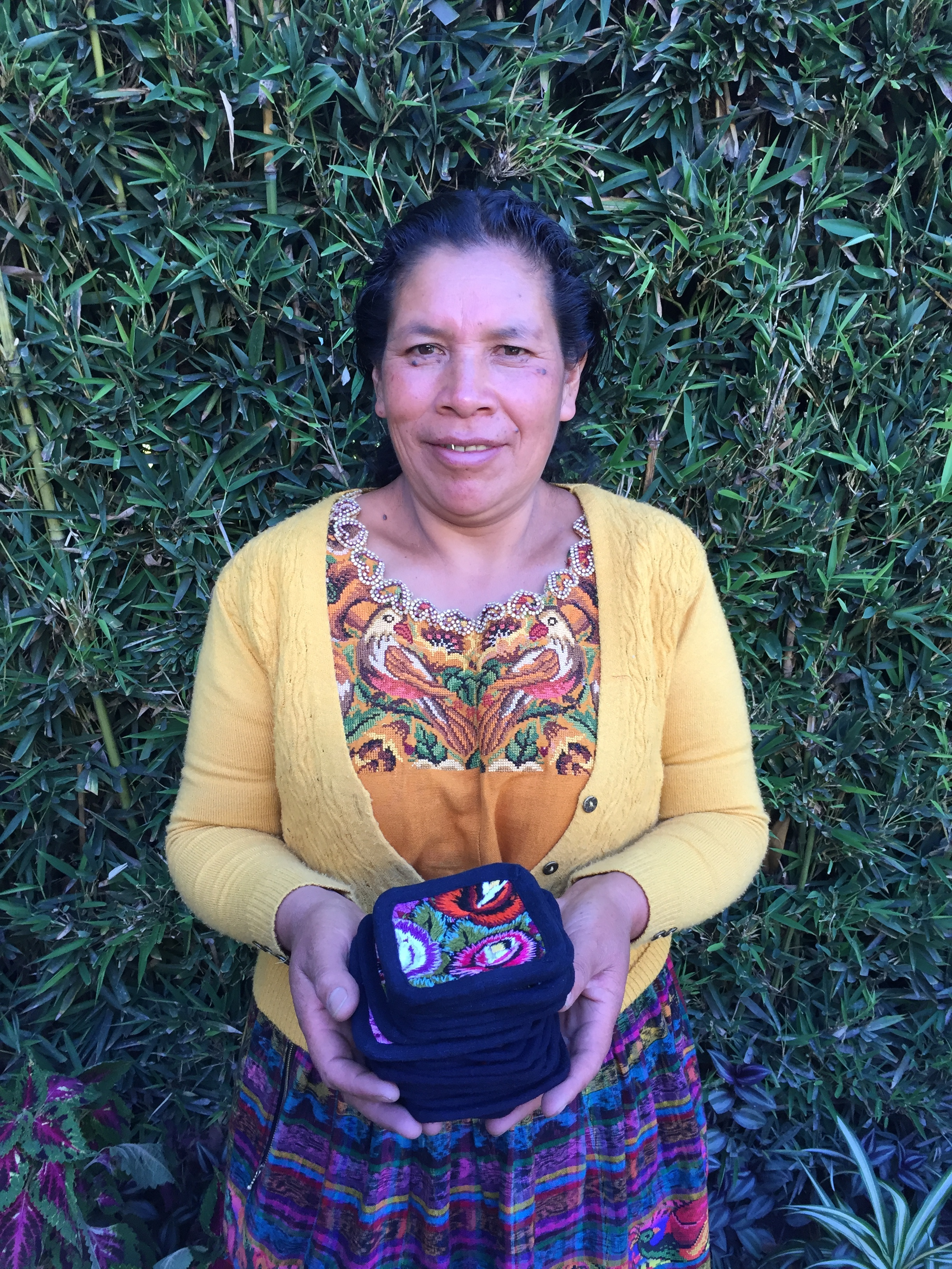 Juana Saquic - Santa Lucia Utatlan - Friendship Bridge's client for 10 cycles.Juana shares her happiness about being a part of the Friendship Bridge family which has helped her develop her own natural talents and build a successful family business.