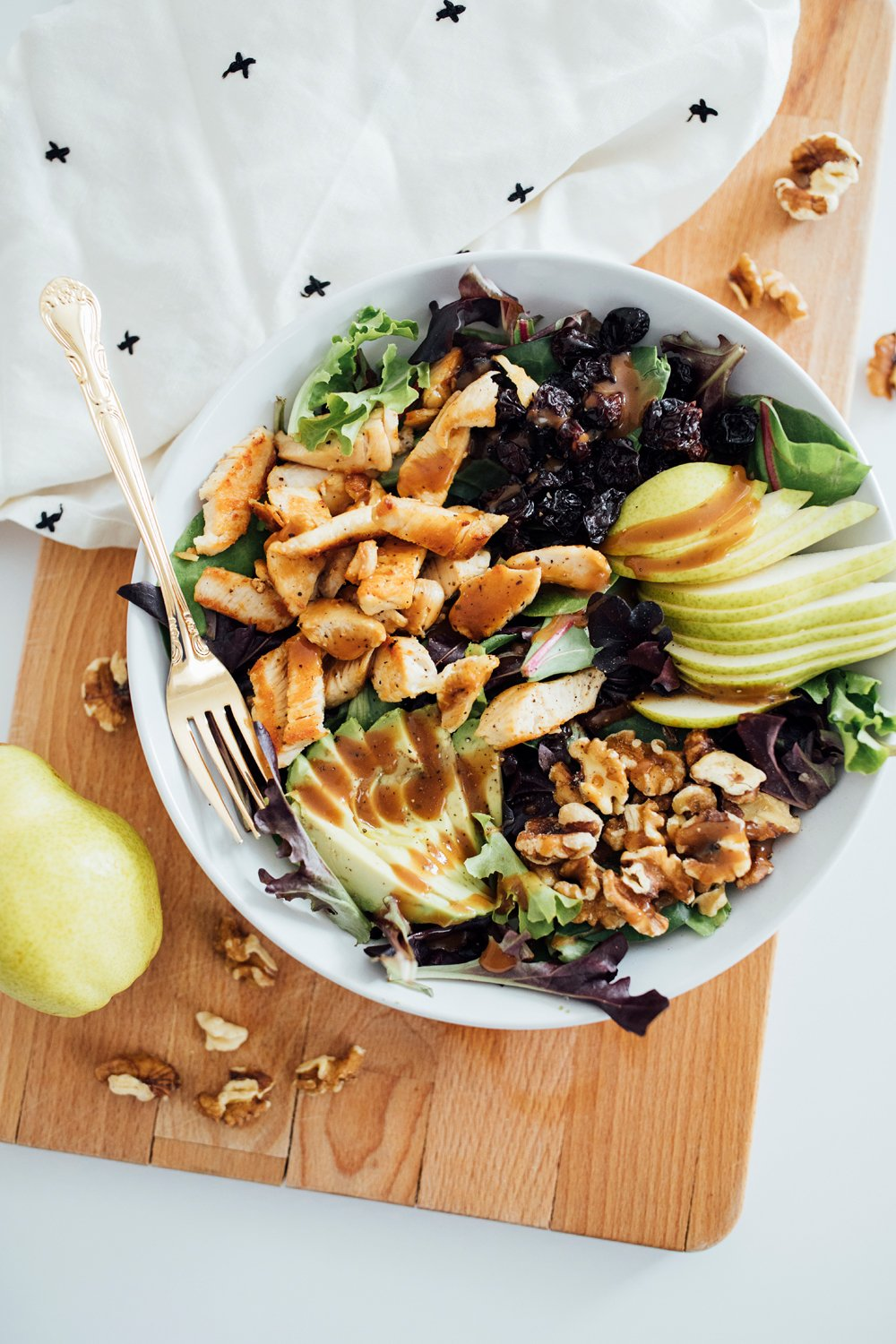 Pear + Avocado Spring Salad