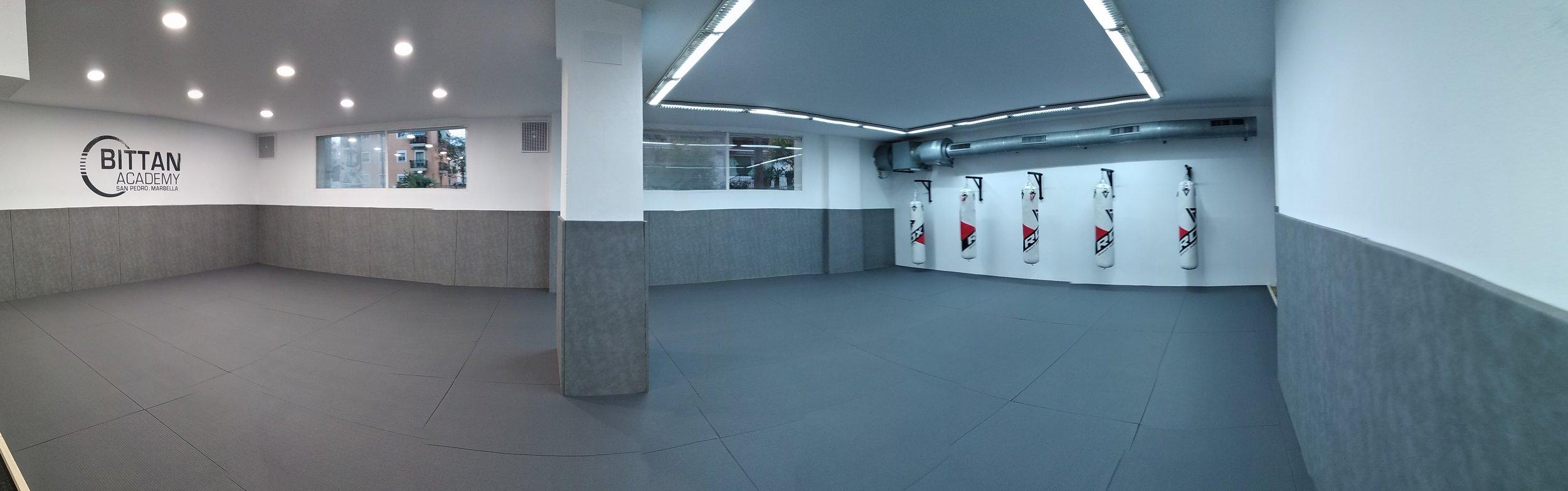 150m2 de tatami olimpico japonés -