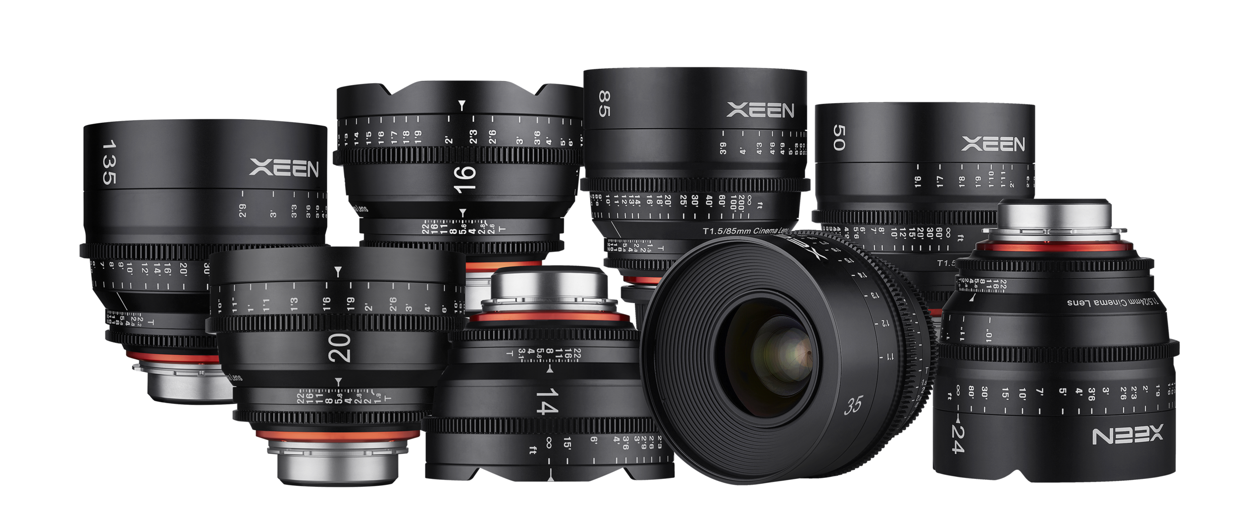 Xeen by Rokinon Professional Cinema Lenses