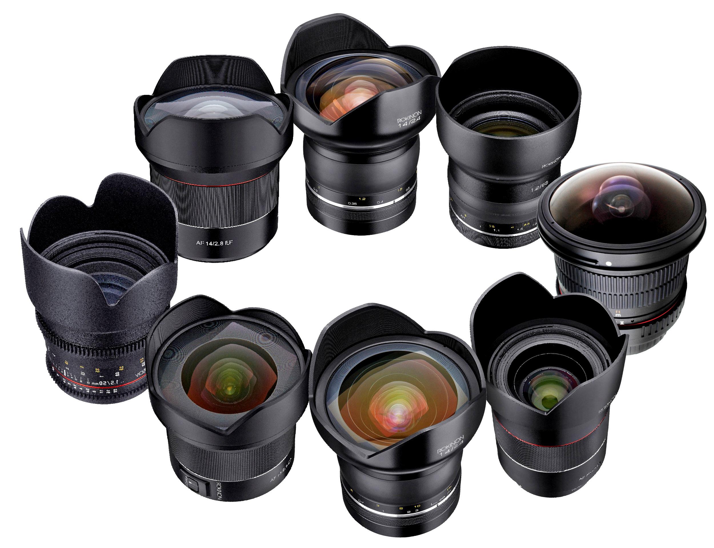 Rokinon DSLR AF and MF Lenses