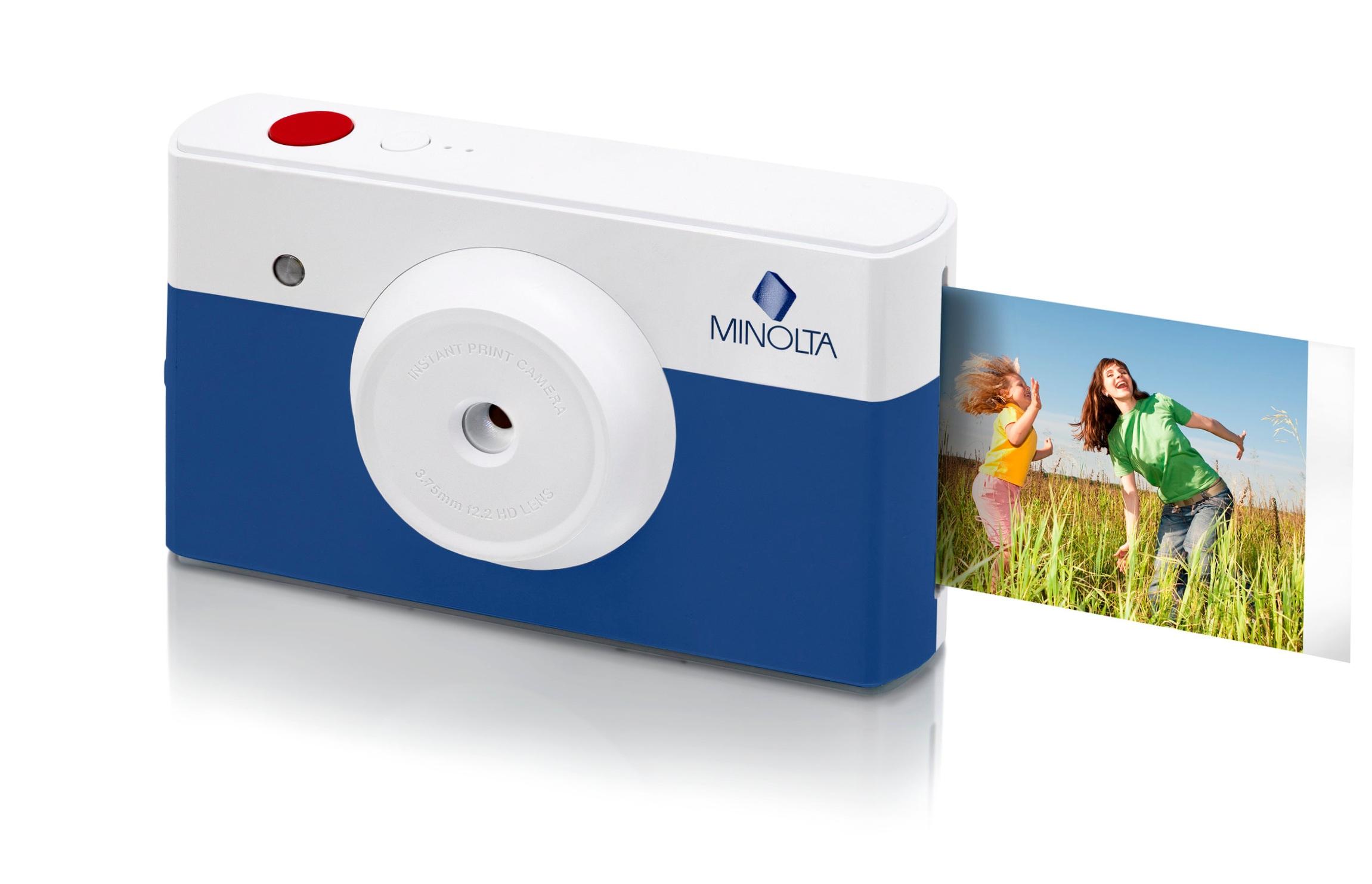 Minolta instapix™ MNCP10 Instant Print Digital Camera