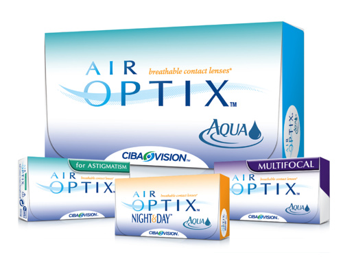 Ciba Air Optix - Monthly - Sphere, Toric, MF