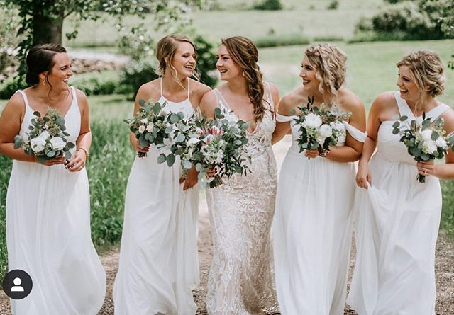 Fall weddings are just around the corner. •Book yours for 2020!• I'd love your referrals. ✨ 📷: @justbephotography.mn • • #mnwedding #mnbride #bridalhair #mnhairstylist #wibride #bridal