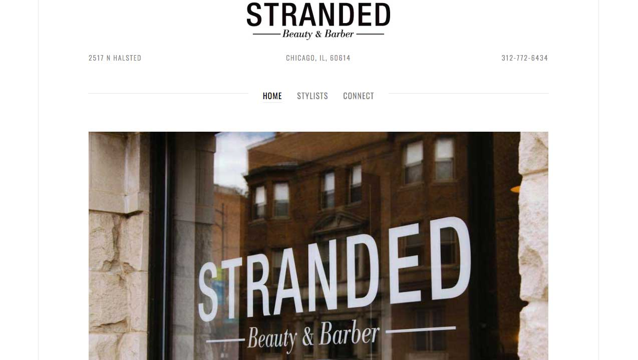 Stranded Beauty and Barber