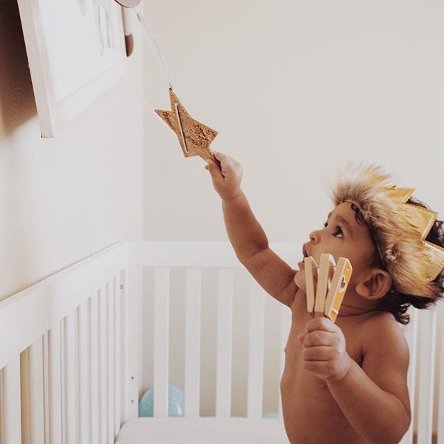 Reach for the stars ✨ ⭐️ . . . #firstbirthday #firstbirthdayphotoshoot #wildone #familyphotography #littleandbrave