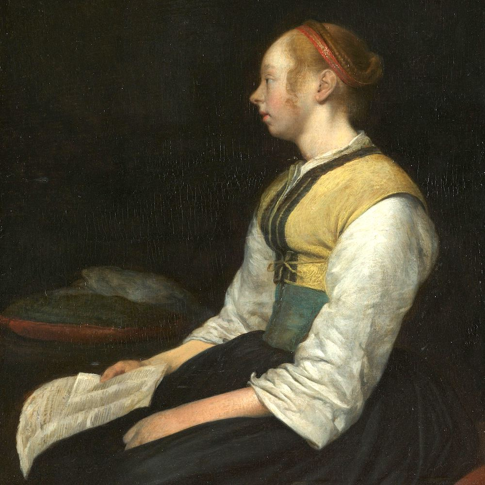 There are problems that are hard to have, but truly easy to solve .  Image:  Seated Girl in Peasant Costume,  Gerard ter Borch (II), c. 1650 - c. 1660, Rijksmuseum. Used with permission.