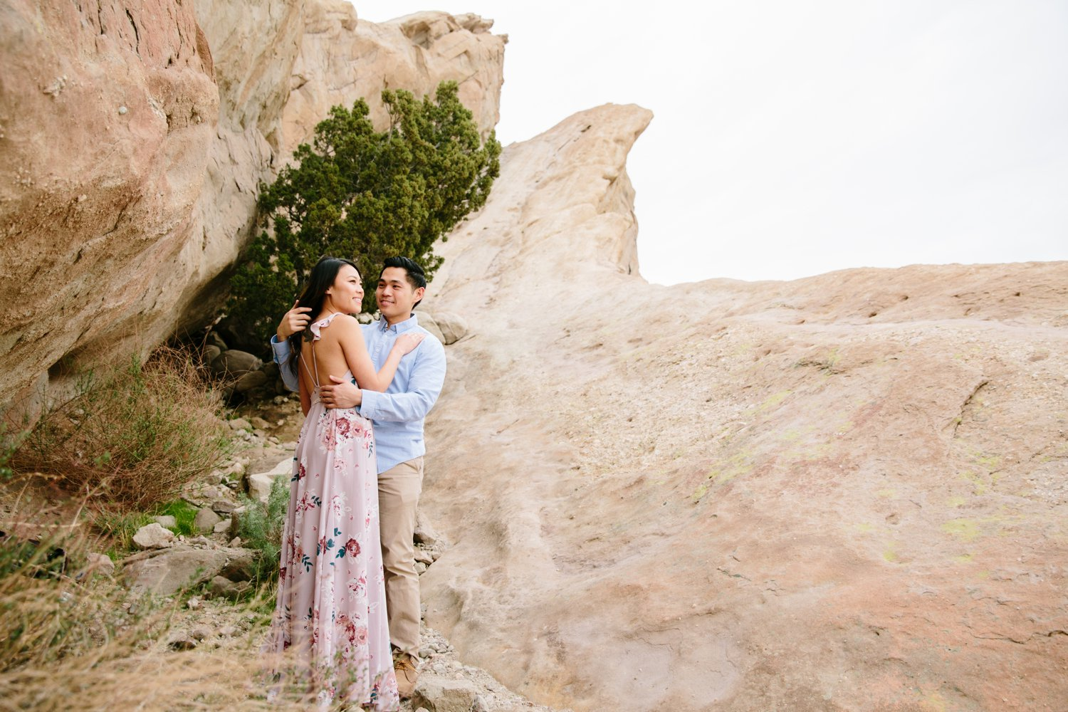 Vasquez Rocks Engagement Kevin Le Vu Photography-26.jpg