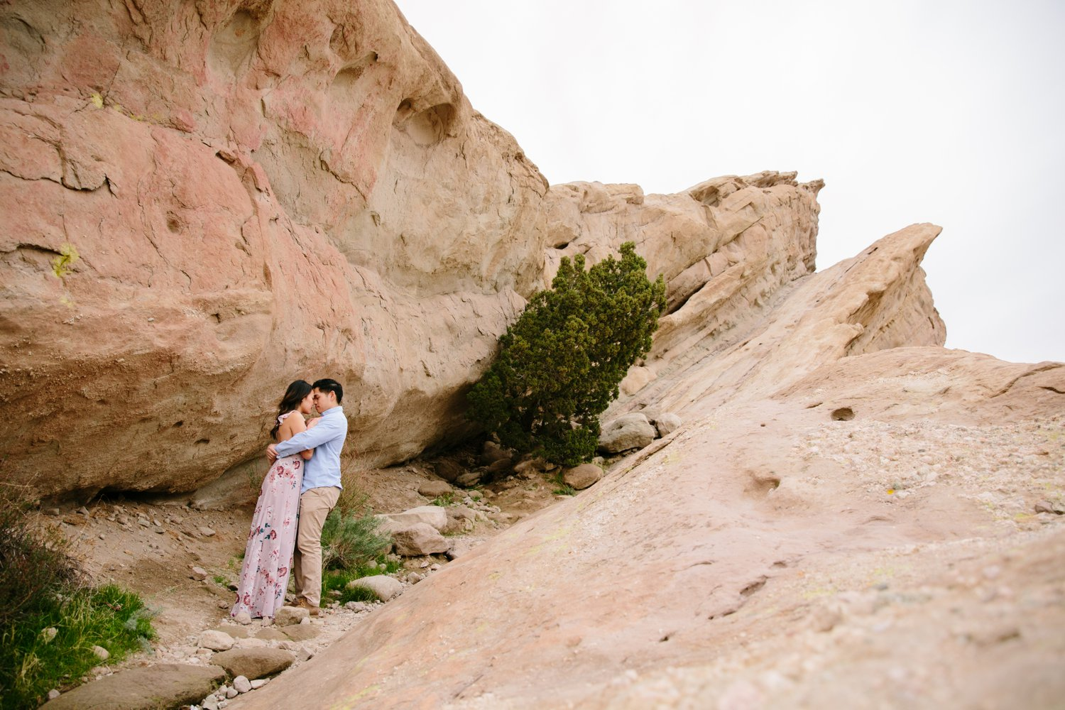 Vasquez Rocks Engagement Kevin Le Vu Photography-28.jpg