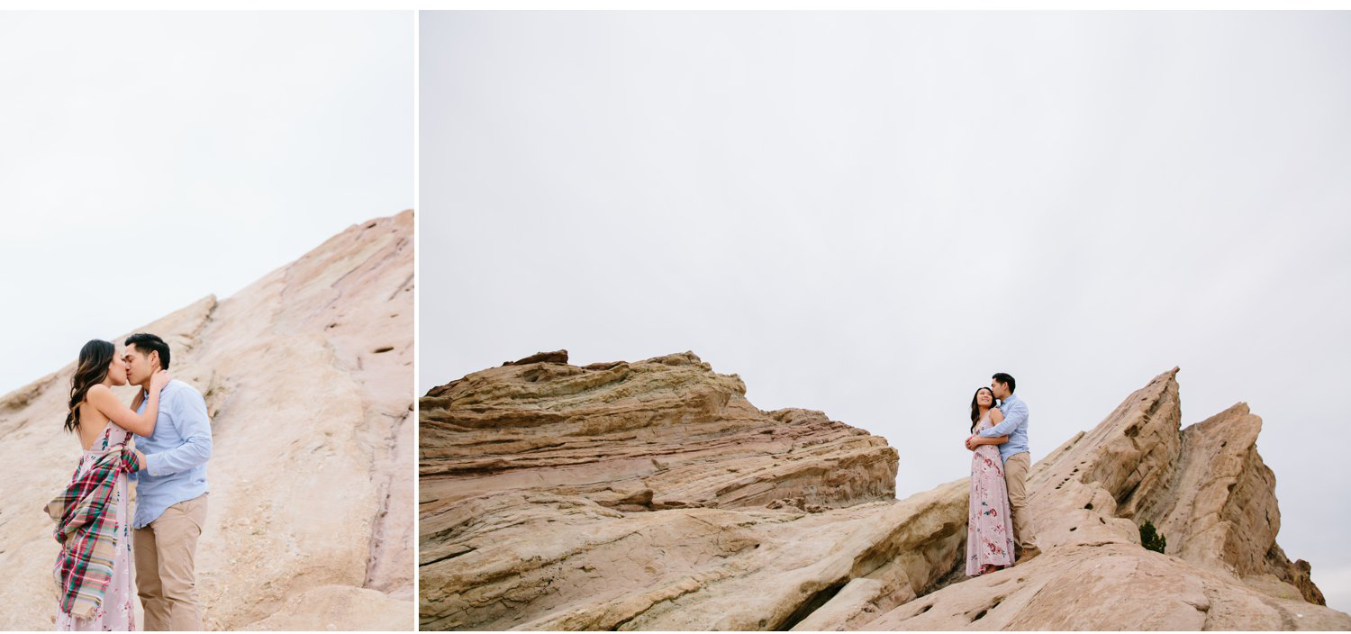 Vasquez Rocks Engagement Kevin Le Vu Photography-29.jpg
