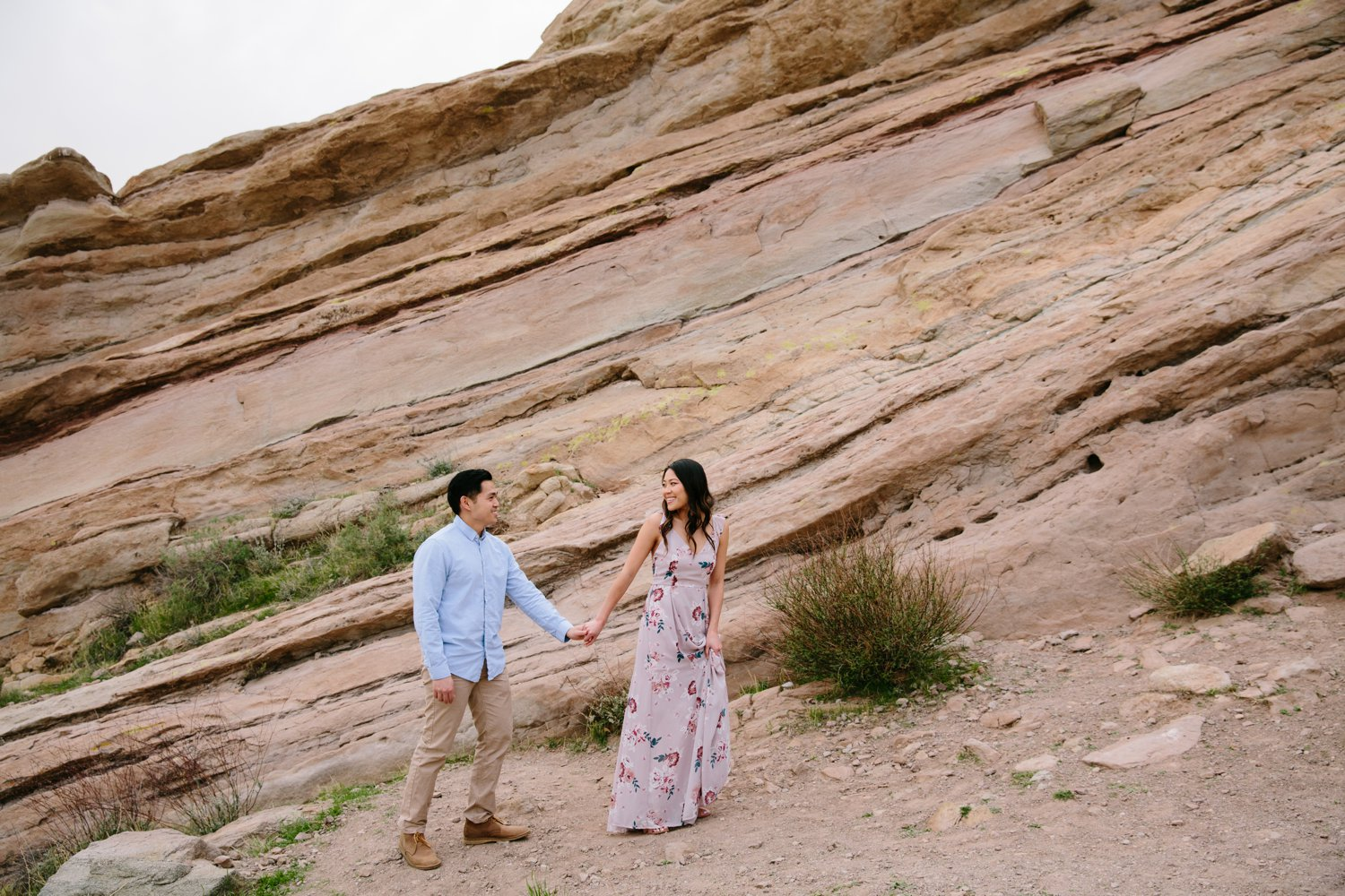 Vasquez Rocks Engagement Kevin Le Vu Photography-34.jpg