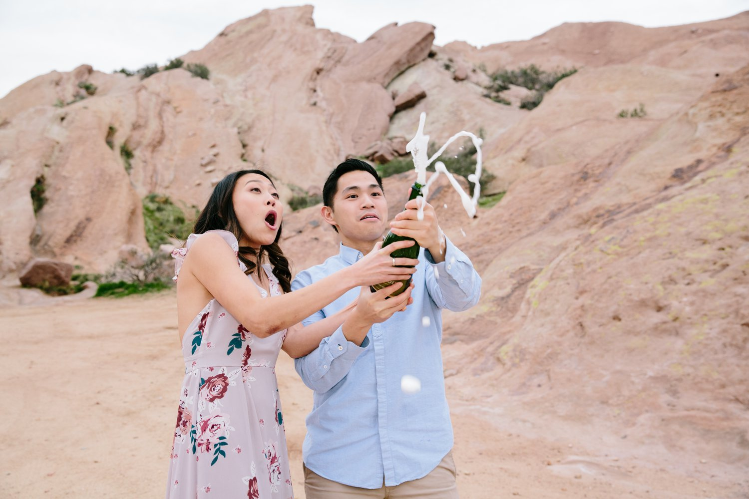 Vasquez Rocks Engagement Kevin Le Vu Photography-39.jpg