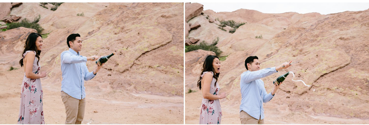 Vasquez Rocks Engagement Kevin Le Vu Photography-38.jpg