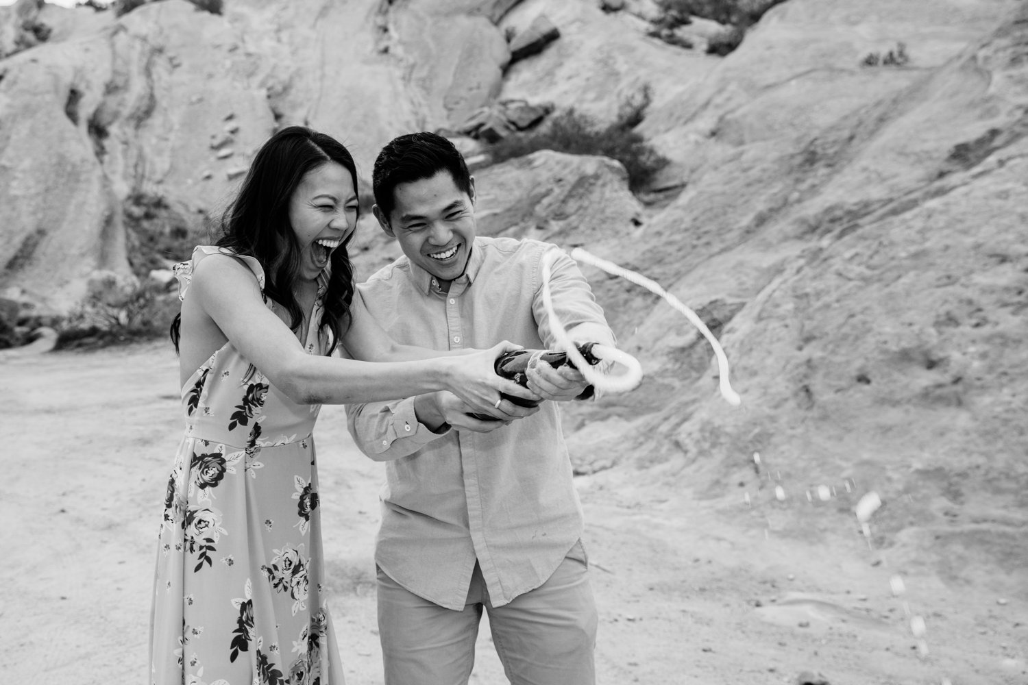 Vasquez Rocks Engagement Kevin Le Vu Photography-40.jpg