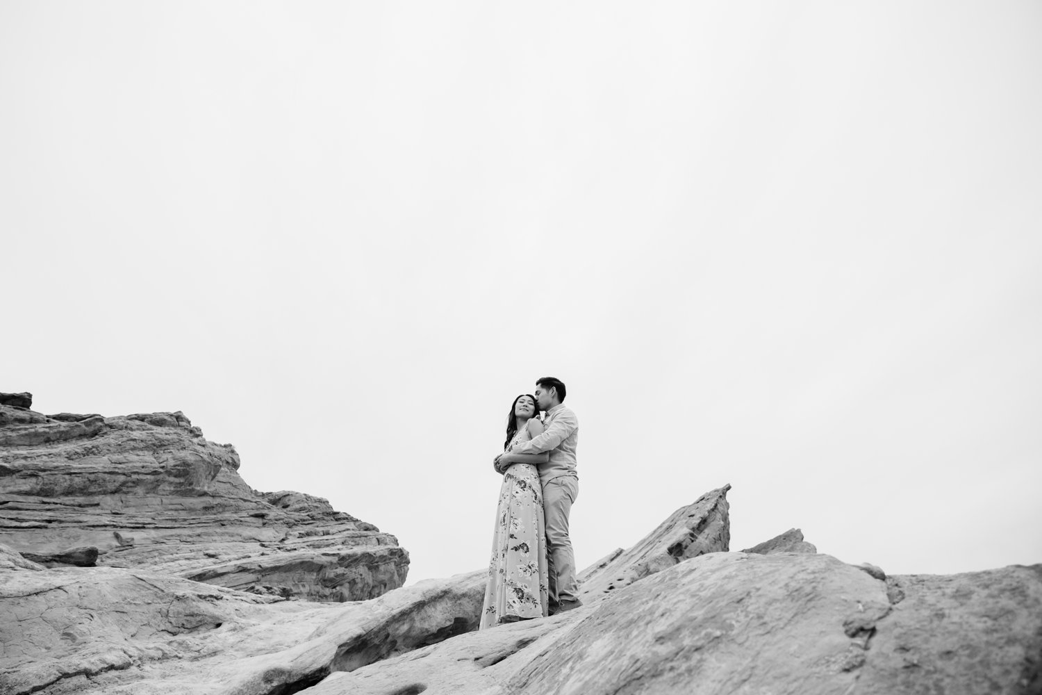 Vasquez Rocks Engagement Kevin Le Vu Photography-44.jpg