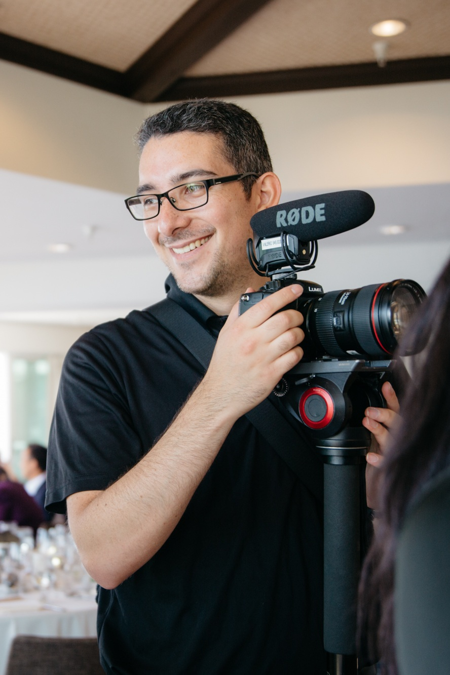 Meet Marcus - Lead Videographer