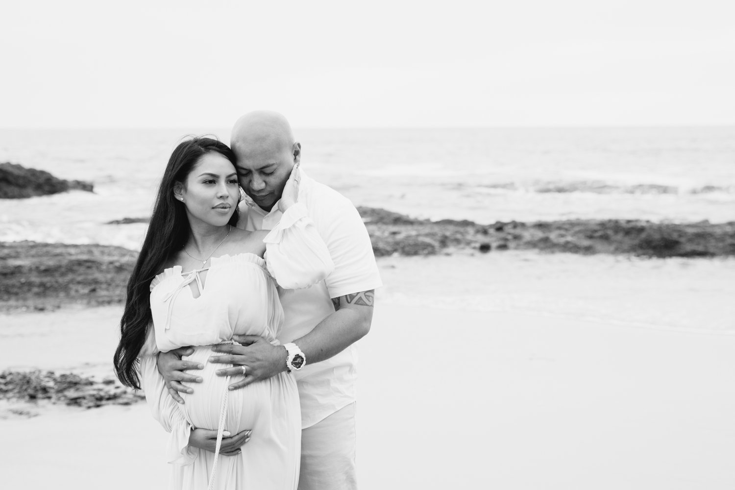 Laguna Beach Maternity Kevin Le Vu Photography-35.jpg