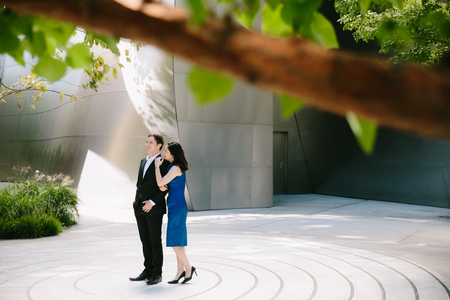 Disney Concert Hall Engagement Kevin Le Vu Photography-21.jpg