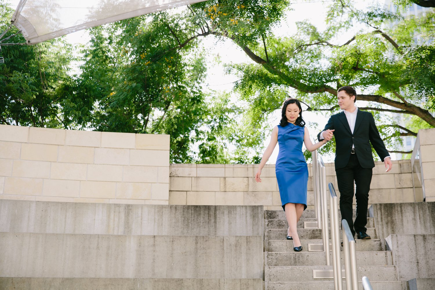 Disney Concert Hall Engagement Kevin Le Vu Photography-28.jpg