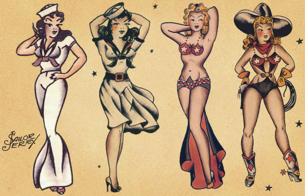Sailor Jerry's designs will outlast any trendy tattoo, and also will be more respected... FOREVER. How's that for infinity.