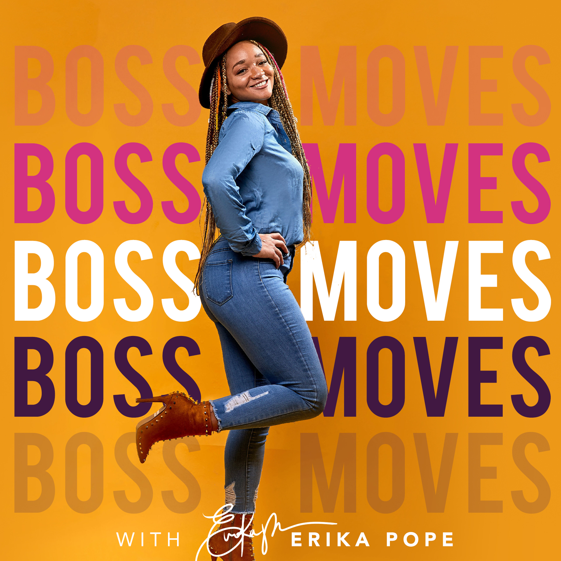 BOSS MOVES PODCAST WITH Erika Pope