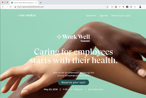 One Medical, 2019. Event website.