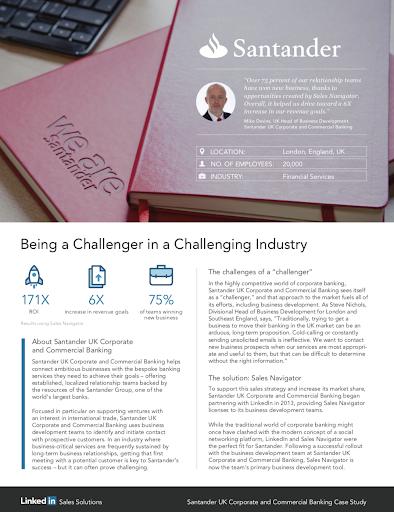 LinkedIn, 2016. Case study. Agency: WHM.