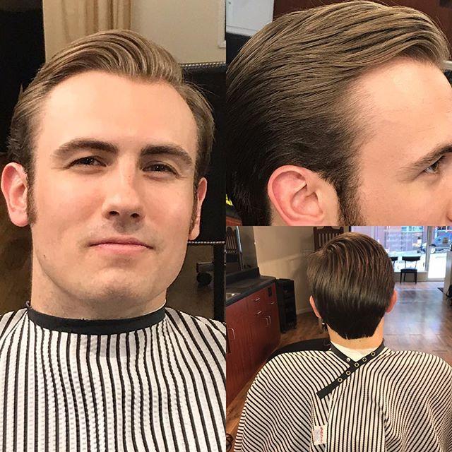 Hair Force 1 #hair excellence #make the barbershop great again #Eric Trump #his real hair #ovalofficebarbers.com