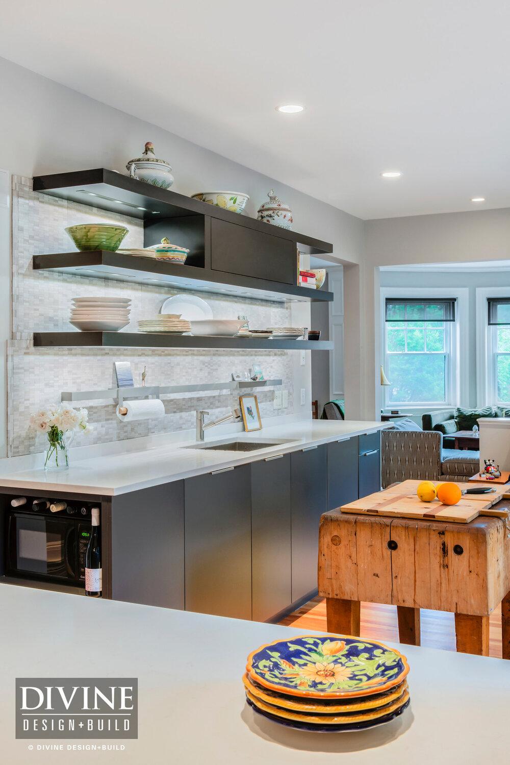 Boston Winchester Modern Transitional Eclectic Leicht Kitchen Divine Design Center