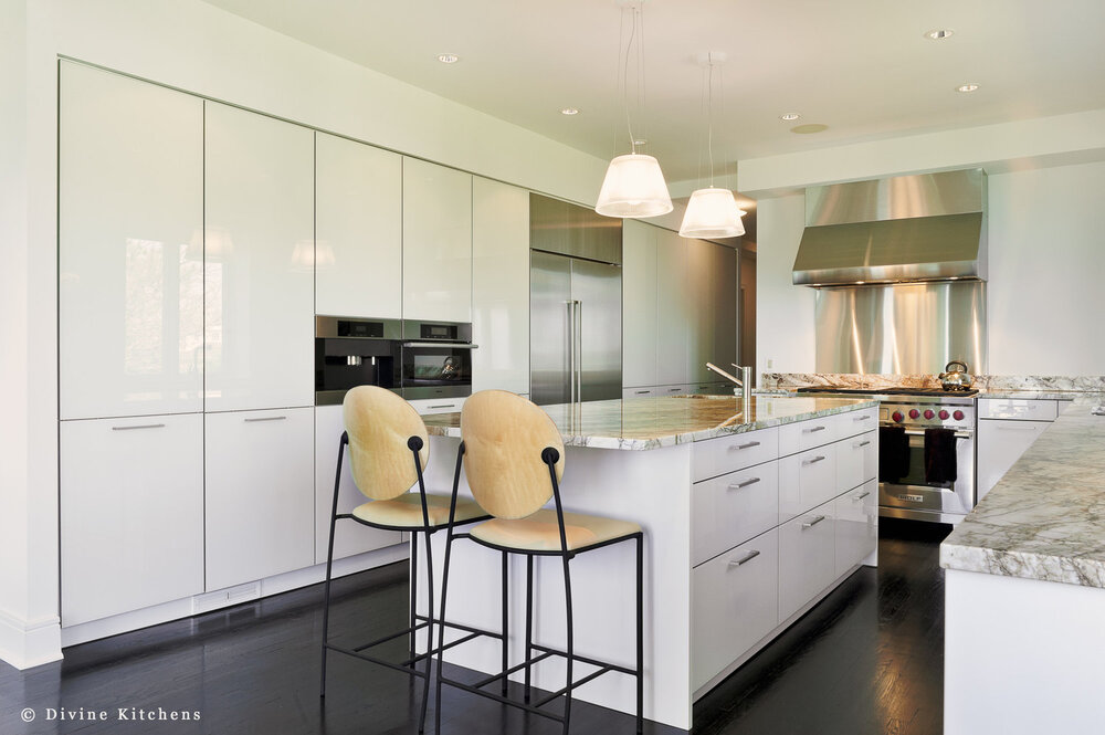 Boston Modern Contemporary Leicht Kitchen Marble Divine Design Center