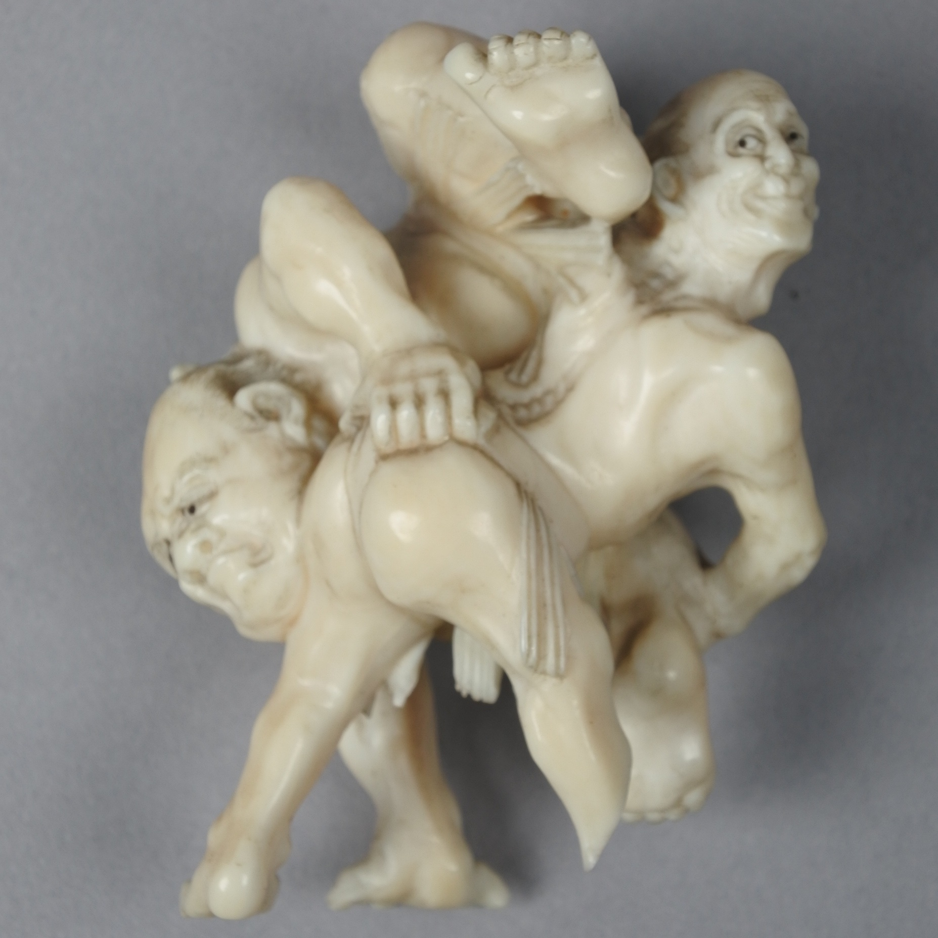 Netsuke - Before Treatment