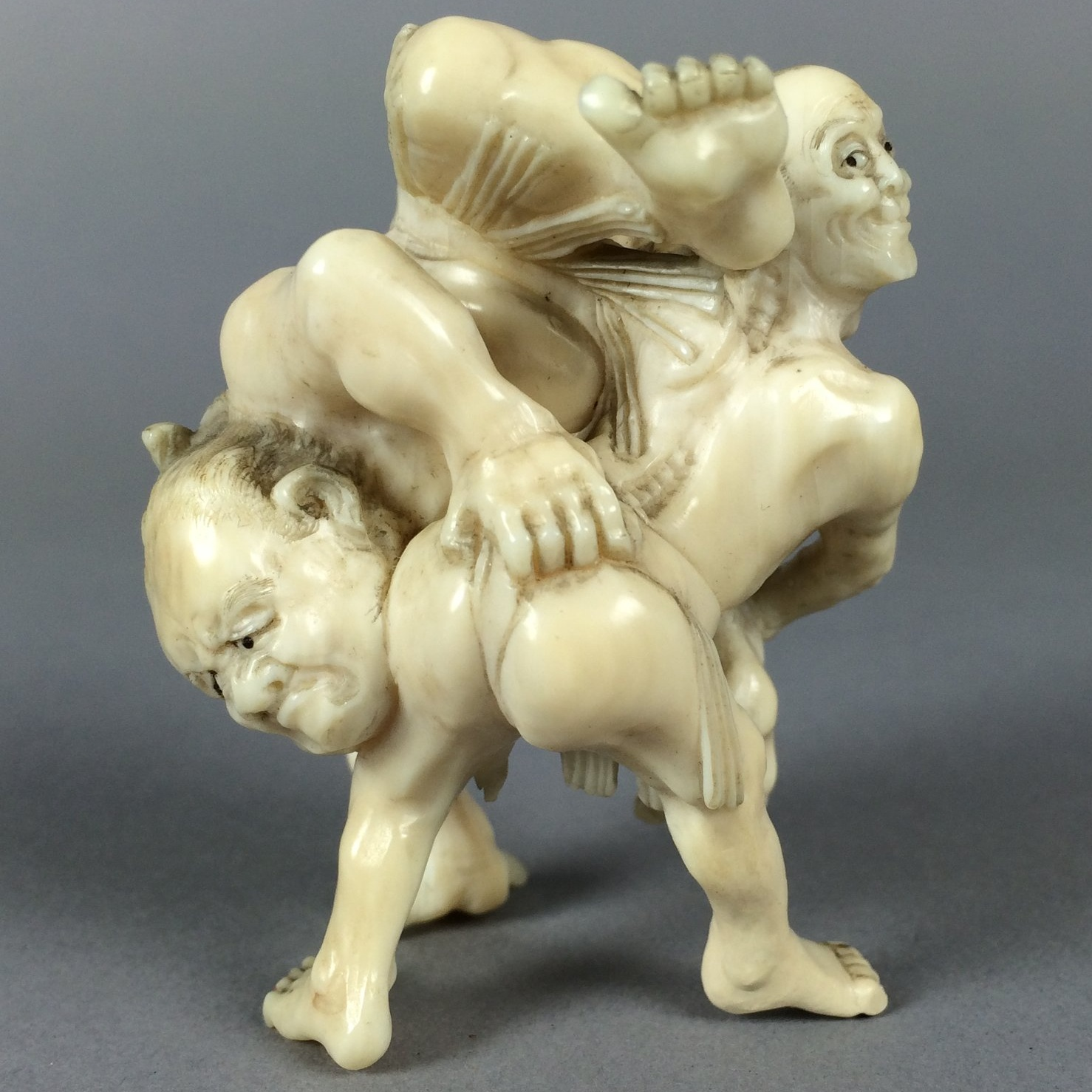 Netsuke - After Treatment