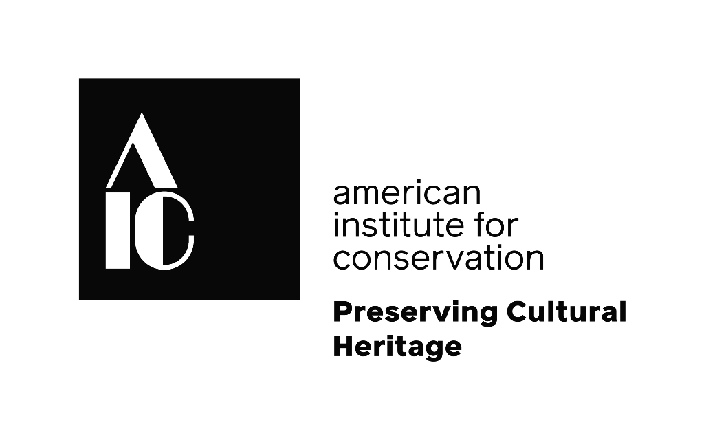 The American Institute for Conservation (AIC) is the leading membership association for current and aspiring conservators and allied professionals who preserve cultural heritage. They represent more than 3,500 individuals in more than forty countries around the world working in the domains of science, art, and history through treatment, research, collections care, education, and more. All of them have the same goal: preserve our cultural heritage so we can learn from it today and appreciate it in the future.