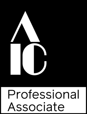 Rowan Geiger, Director & Principal Conservator and Stephanie Limoges, Senior Paintings Conservator have both been awarded Professional Associate status of the American Institute of Conservation (AIC)