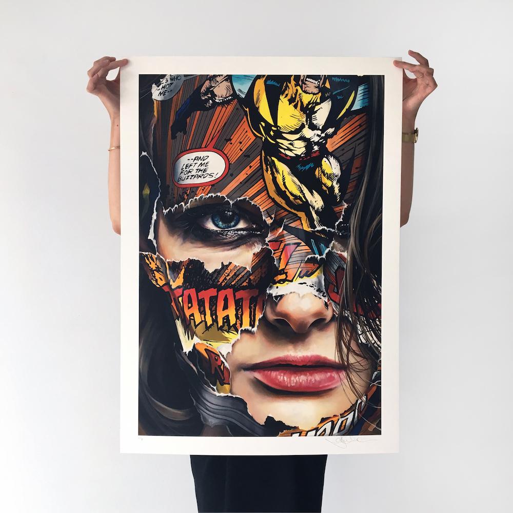Print_La Cage et le noir charbon_ 33 x 23 in. Edition 50_ 480$ usd.jpg