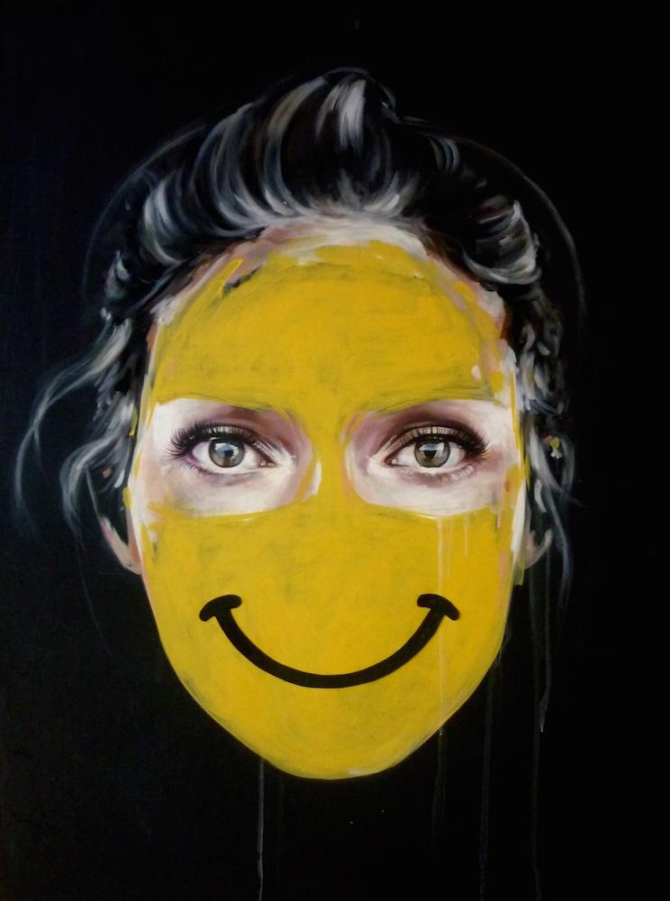 La Cage et le poids du bonheurs, 40X30, 2014..jpg