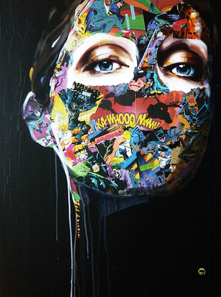 La Cage et la fragilité de l'âme humaine,Sandra Chevrier 30X40 on canvas, 2013.jpg