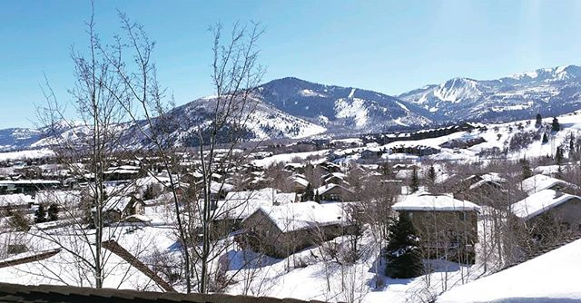 Client's roof view in beautiful Park City. Call us for all your property repair needs. 435-300-0787