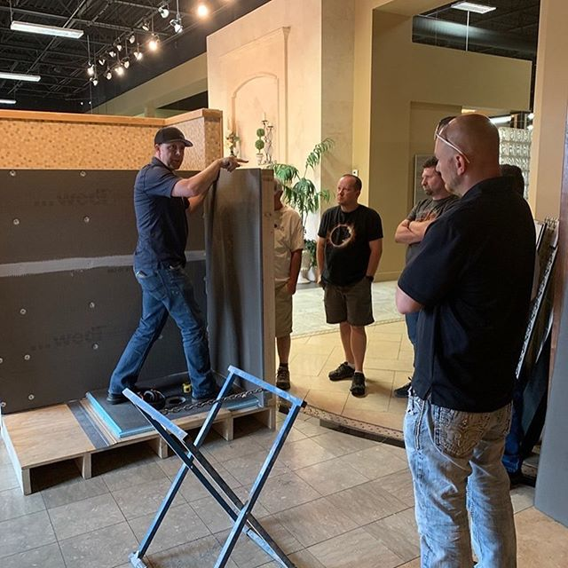 Last week we attended a seminar on Wedi Building Panels. We love learning about and keeping up to date on new industry products.  Let us know how we can help you! . . . #blackdogpropertymanagement #blackdogbuilders #homeimprovement #parkcitybuilders