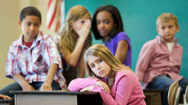 Learn why children don't tell parents about bullying and how to identify early that your child is being picked on.