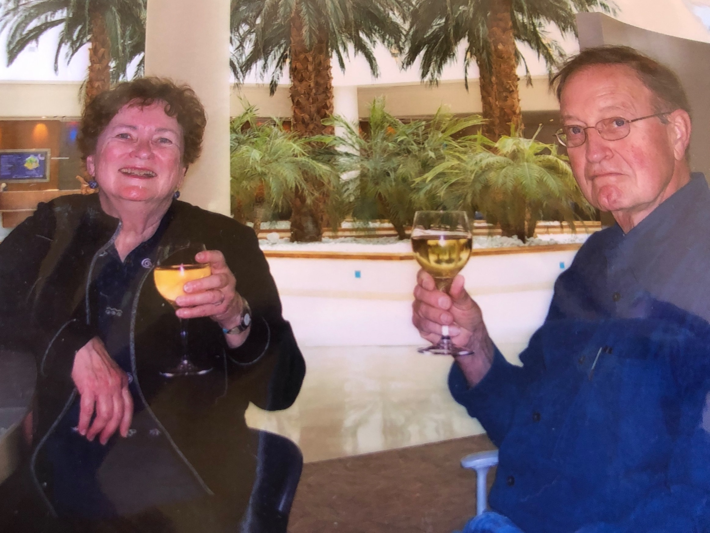Founders Bob and Mary Jane Hartenberger loved wine country living.