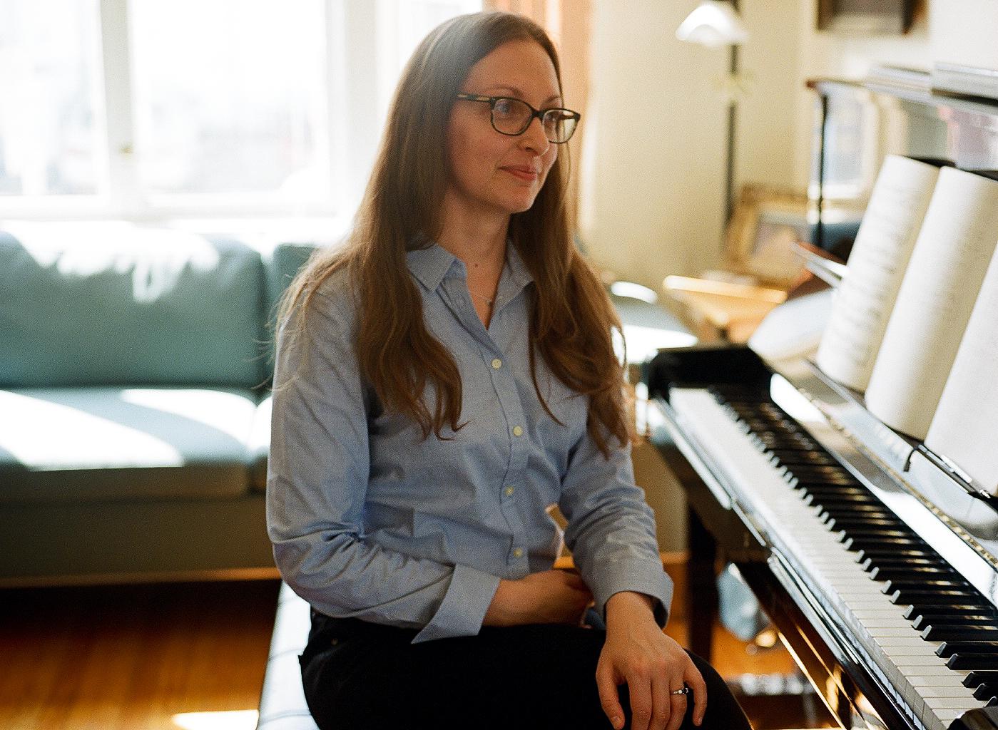 Julie Barwick - composer, pianist and teacher