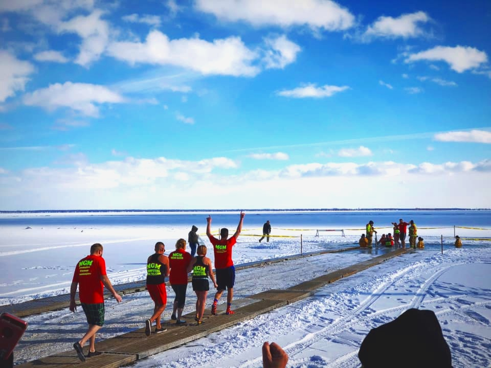 2019 New Baltimore Winterfest Polar Plunge