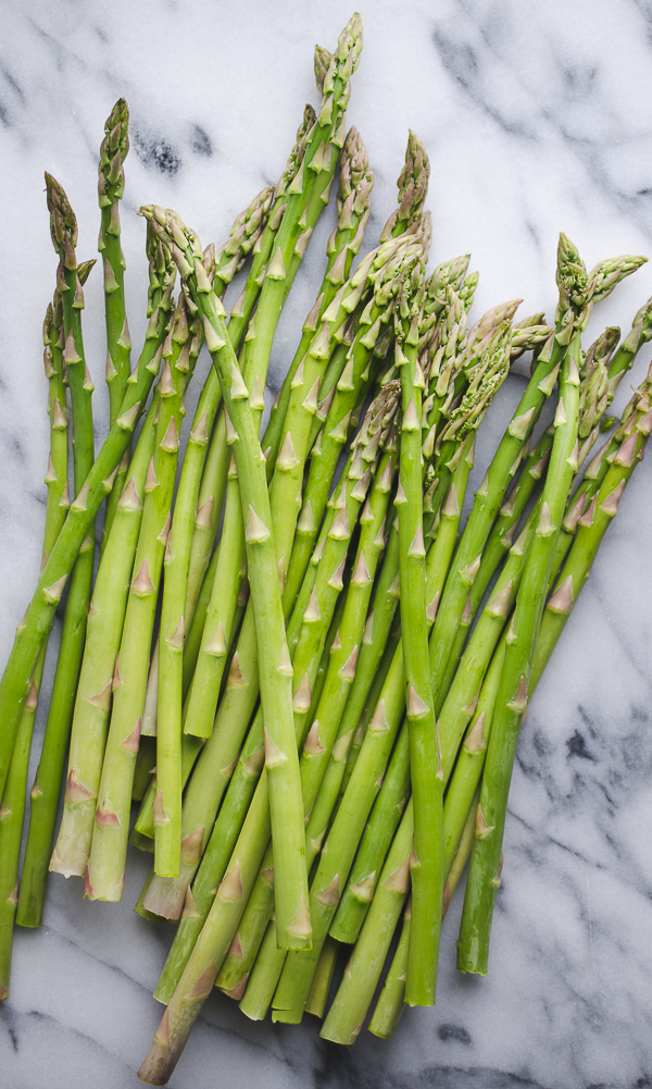 Four spears of cooked asparagus provide 130 mcg folate, which is more than twice as high as one cup of raw spinach.