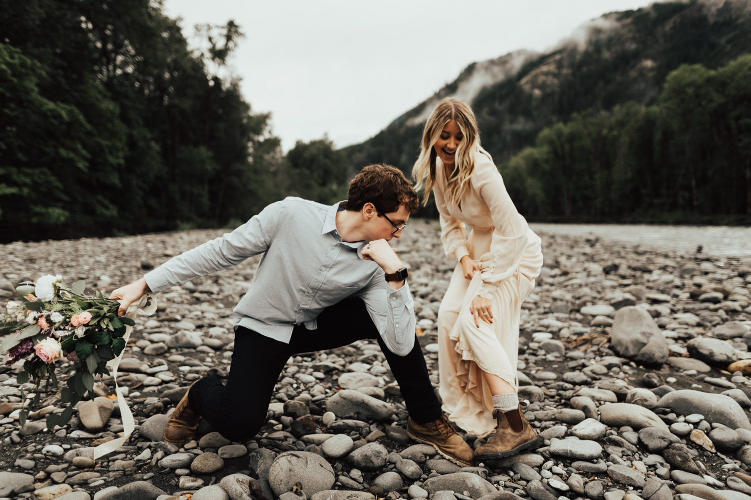 Olympic National Park Intimate Elopement