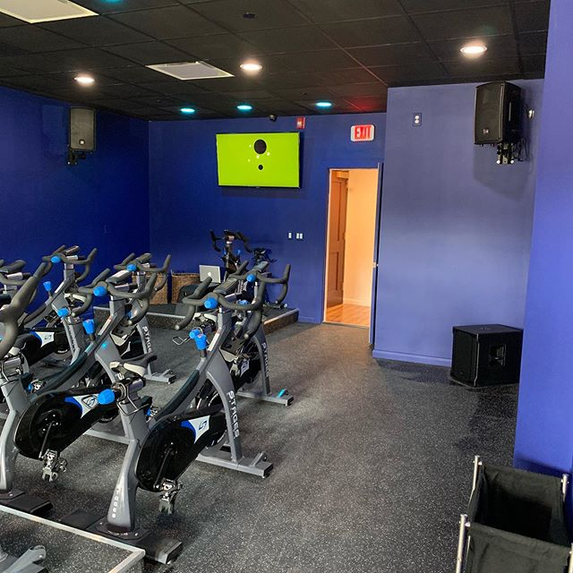 The spin room is moving along.  Almost ready to open July 15 th.  Come sign up to spin in a gorgeous setting!!!