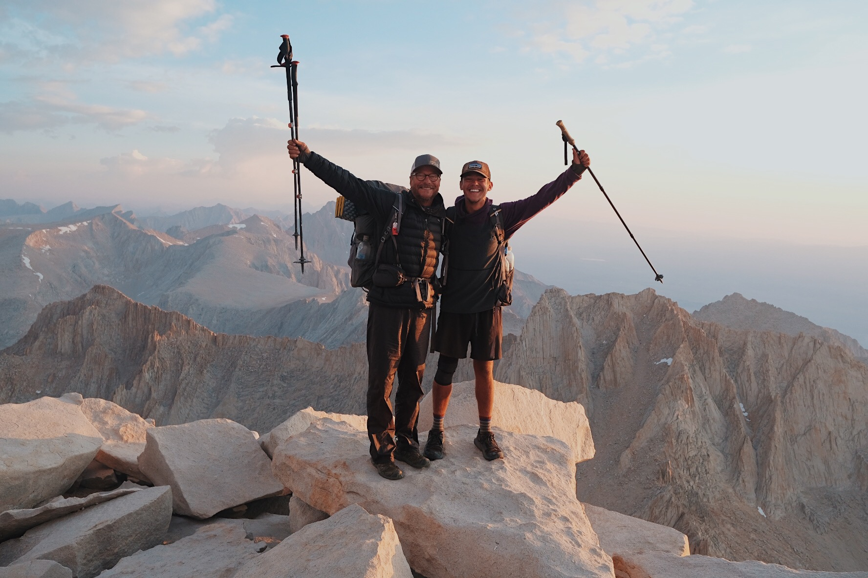 The John Muir Trail - 210 miles from Yosemite Valley to Mount Whitney