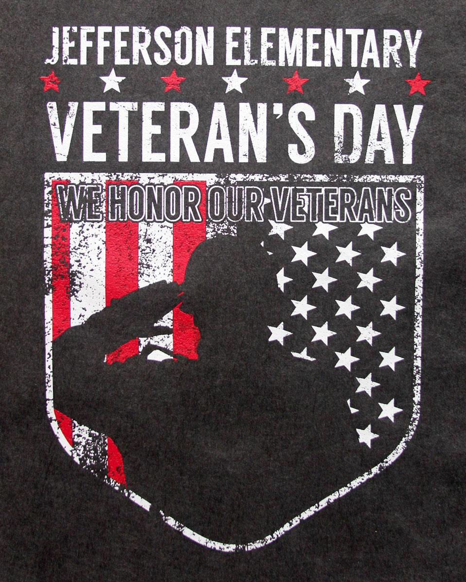 Jefferson Elementary Veteran's Day