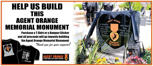 Agent Orange Memorial Banner